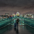 Millennium Bridge And St Pauls by James Billings