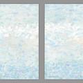 Minimal Modern Art Diptych 2 by Gordon Punt