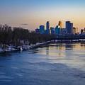 Minneapolis Skyline by Susan Rydberg