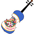 Minnesota State Fiddle by Bigalbaloo Stock