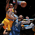 Minnesota Timberwolves V Denver Nuggets by Bart Young