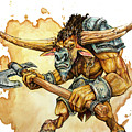Minotaur by Aaron Spong