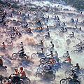 Mint 400 Motocross Race by Bill Eppridge