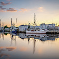 Miss My And Bayou Sunset by Brad Boland
