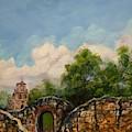 Mission Francisco De La Espada by Cheryl Damschen