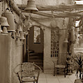 Mission Inn View Garden Of Bells Riverside Circa 1912 by California Views Archives Mr Pat Hathaway Archives