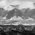 Mist On The Sangre De Cristo Mountains by Steve Krull