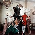 Models Wearing Latest Dress Designs by Loomis Dean