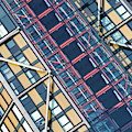 Modern Apartment Architecture Abstract by Tim Gainey