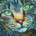 Moe The Colorful Tabby Cat by Peggy Collins