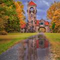 Mohonk Preserve Gatehouse  Ny Fall  by Susan Candelario