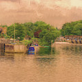 Molesey Lock And Weir by Leigh Kemp
