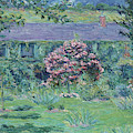 Monet House In Giverny By Claude Monet by Claude Monet