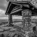 Monochrome Sunset At White Rock Mountain National Recreation Area Scenic Overlook by Gregory Ballos