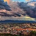 Monsoon Hits Tucson by Chance Kafka