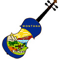 Montana State Fiddle by Bigalbaloo Stock