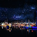 Monterey Bay At Night by Tommy Anderson