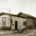 Monterey Southern Pacific Railroad Depot And Western Union Teleg by California Views Archives Mr Pat Hathaway Archives