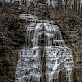 Montour Falls Waterfall by William Norton
