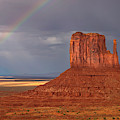 Monument Valley Rainbow by Harriet Feagin