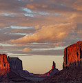 Monument Valley Sunset by Shirley Ramaley