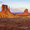Monument Valley Xx Color by David Gordon