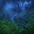 Moody Landscape New River Gorge by Dan Sproul