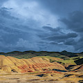 Moody Painted Hills by Matthew Irvin