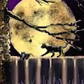 Moon Cats by Robert Rearick