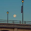 Moon Over Rainbow Bridge by Jonathan Hansen