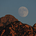 Moon Rise Over Mount Wrightson  by Chance Kafka