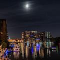 Moonlight Cruise by Randy Scherkenbach