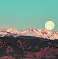 Moonlight Over Colorado Mountains by Patricia Awapara
