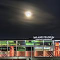 Moonlight Over Mclane Stadium by JC Findley
