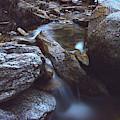 Moonlit Waterfall by Chance Kafka