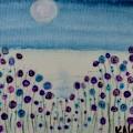 Moonshadow Flower Field by Kim Nelson
