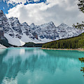 Moraine Lake Range by Inge Johnsson