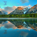 Moring Reflections At Wedge Pond by Adam Jewell