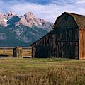 Mormon Row Barn by John Hight