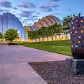 Morning At The Kansas City Kauffman Arts Center by Gregory Ballos