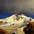 Morning Cloud Over Huayna Potosi Cordillera Real Bolivia by James Brunker