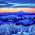Morning From Timberline Lodge by Bruce Block