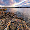 Morning Light Over The Piscataqua River. by Jeff Sinon