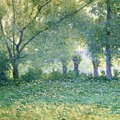 Morning Mist Also Known As Late Spring by Guy Rose