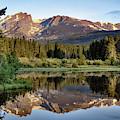 Morning Stillness - Rocky Mountain Landscape At Sprague Lake by Gregory Ballos