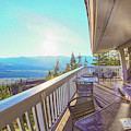 Morning Sunrise At Sun Mountain Lodge Architectural Photography By Omaste Witkowski by Omaste Witkowski
