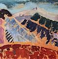 Mosaic Canigou by Vera Smith
