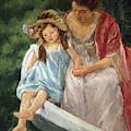 Mother And Child In Boat, 1908 by Mary Stevenson Cassatt