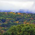 Mount Greylock In The Clouds by Raymond Salani III