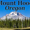 Mount Hood Oregon In Fall by G Matthew Laughton